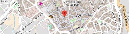 Las Cinco Vigas on map