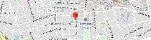 Restaurant Las Forcas, Terrassa en el mapa