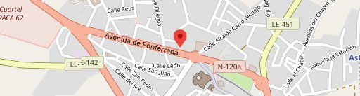 Restaurante las Murallas en el mapa