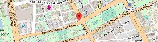 Levante Valencia on map