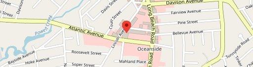 Lia's pizzeria Oceanside on map