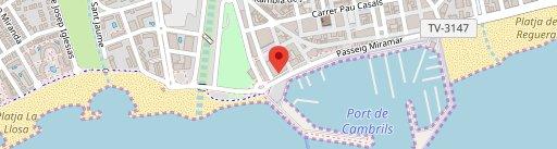Restaurant Lounge Llop de Mar en el mapa