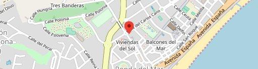 Lo Der Pepe y El Antonio en el mapa