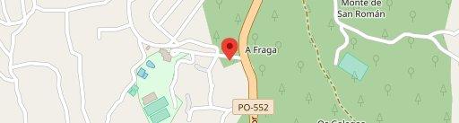 Los Abetos en el mapa