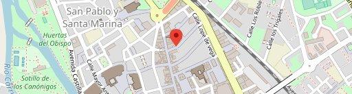 Los Candiles en el mapa