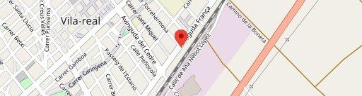 Pizzería Lucciola en el mapa
