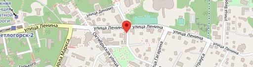 Lyubimoye on map