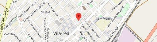 Mala Gossa en el mapa