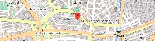 Manolito en el mapa