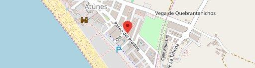 Maremía en el mapa
