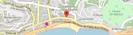 Restaurante María en el mapa