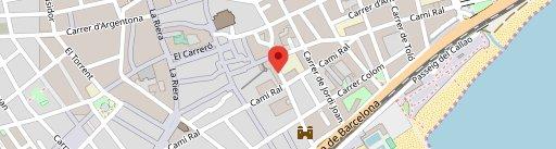 Mataró de Tapes en el mapa