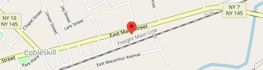McDonald's on map