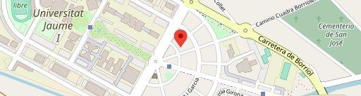 Meeting Point Beer University en el mapa