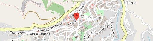 Meguiñez en el mapa