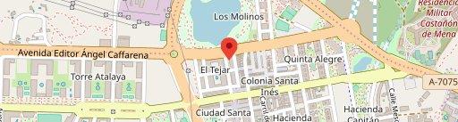 Restaurante Agustín El Picoteo en el mapa