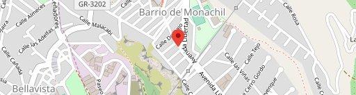 Meson Alba en el mapa