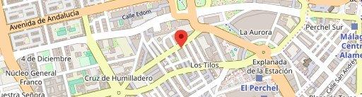 Mesón Astorga en el mapa
