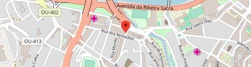 Mesón Do Manolo en el mapa
