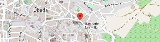 Meson Gabino en el mapa