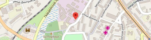Бар Место Силы на карте