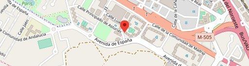 Mile Café Restaurante en el mapa