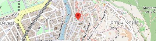 Mmmm Deliciosa Girona en el mapa