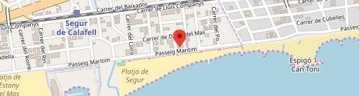 Restaurante Monika en el mapa