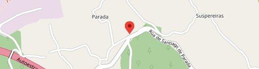 Na Morada Das Parras en el mapa