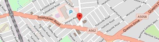 Neon Jamon on map
