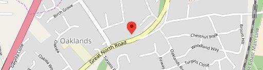 North Star on map