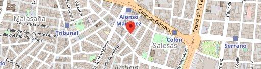 Nuevo Horno De Santa Teresa en el mapa