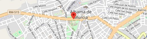 Nuevo Paraje Moriana en el mapa