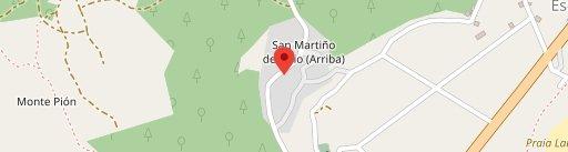 Ó Fragón restaurante en el mapa