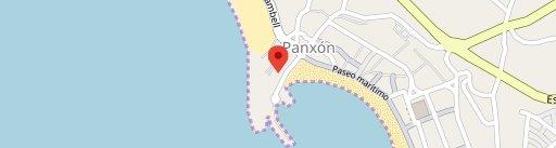 O Peirao de Vane en el mapa