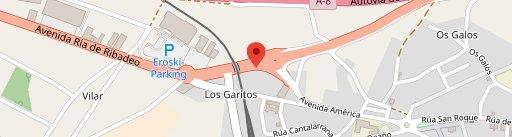 Restaurante O Piano en el mapa