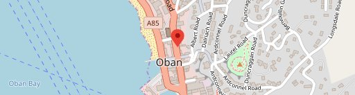 Oban Fish and Chip Shop on map