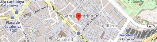 Restaurante italiano OBE en el mapa