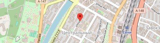 """Ресторан семейных рецептов """"Оливье"""" на карте"""