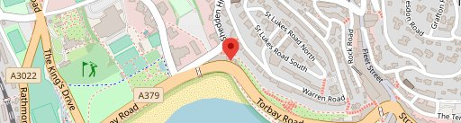 On The Rocks - Torquay en el mapa