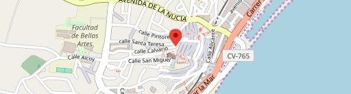 Restaurante Oustau de Altea on map