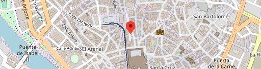 Ovejas Negras Tapas en el mapa