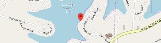 Lakeside Cafe at Ozark Yacht Club on map