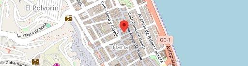Palm Cafe City en el mapa