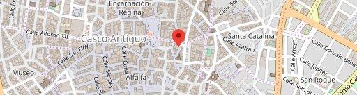 Palo Cortao Vinos y Tapas en el mapa