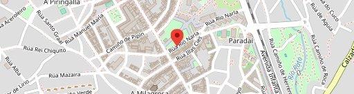 Panadería Illán en el mapa