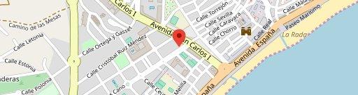 Parrilla Argentina Roby en el mapa