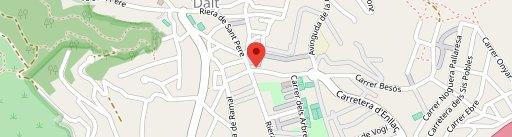 Piazza de Dalt en el mapa