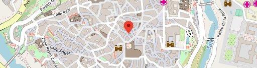 Pastucci on map