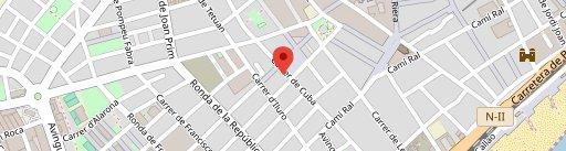 Restaurant Mataró | Peix & Chips en el mapa